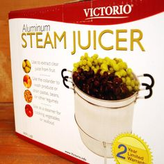 Steam Juicer Victorio Aluminum