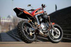 """Suzuki GSX-R 1100 """"Tracker"""" by KMP"""
