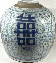 """Ancient China Qing Dynasty Genuine Massive Antique Porcelain Blue+White """"Ming"""" Vase 1750AD Well Preserved #49663"""