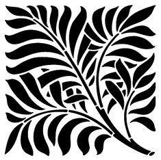Вытынанки,трафареты и шаблоны листьев
