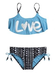 Shop Love Flounce Bikini Swimsuit and other trendy girls spring 2015 preview new arrivals at Justice. Find the cutest girls new arrivals to make a statement today.