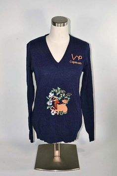 Vintage 60s Capricorn Astrology Pullover Sweater, NWT Dead Stock Unworn, Zodiac Sign Birthday Sweater S