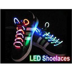 bbc5d9fdb21 Multi-Color LED Shoe Laces flash Lighting the Night. Nithinraj Murugesan · Hip  hop dance shoes