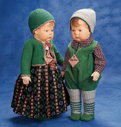 kruse doll antique   Lot: 163. German Cloth Character Girl,by Kathe Kruse,Original Box