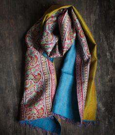 Repurposed Vintage Sari Scarf #011