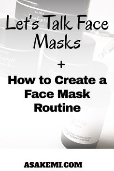 Have you been wondering how to get glowing skin? A big secrete to having healthy skin is using face masks. In this post you can learn about what face mask is best for you and how to create face mask routine. Click the link to read more.