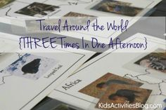 Travel Around the World {3 Times In One Day}