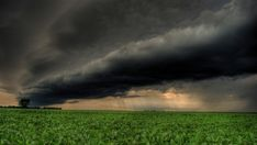 Dark Storm Clouds Over Fields Hdr HD Desktop Background wallpaper Field Wallpaper, Cloud Wallpaper, Supercell Thunderstorm, Rain Wallpapers, Autumn Rain, Wild Weather, Garden Features, Storm Clouds, Fantasy Landscape