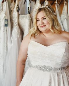 cfef90ca7b4 Wedding dresses for curvy brides and plus size brides at Danelle s Bridal  Boutique in Colorado Springs