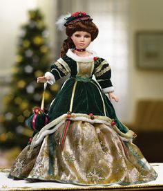 Victorian Christmas Holiday Doll  $12.97