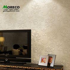 Trouver plus Papiers peints Informations sur Moreco 3d stéréo en relief floral style de l'europe papier mural décoration de la maison pour sofa décoré bricolage / le salon Non   tissé de papier mural rouleau, de haute qualité peinture papier peint, Fond d'écran europe Chine Fournisseurs, pas cher vidéo europe de   Moreco wallpaper  Co., Ltd sur Aliexpress.com
