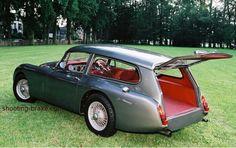 Stunning Jaguar XK 120 estate (rear open)