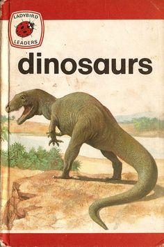Dinosaurs Ladybird Books by RetroBooksUK on Etsy, £2.00