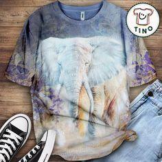 elephant shirt Elephant Shirt, Tie Dye, Lovers, Poster, Shirts, Women, Fashion, Moda, Fashion Styles