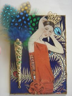 Artfully Musing: Art Deco Inspired ATCs