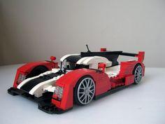 LEGO Audi R18 TDI by Mattyy 666