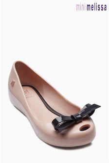 Nude Mini Melissa Bow Perfect Sandal