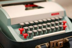 Petite Toy Typewriters - These little cuties are great for kids and may help keep them away from your more expensive machines.