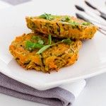 My sweet potato + zucchini patties are now up on the blog - www.notyourstandard.com #vegetarian #glutenfree #nystandardfood