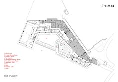Image 38 of 48 from gallery of Jiahe Boutique Hotel / Shangai Dushe Architecture Design. Floor Plan 1