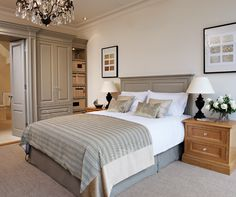 Luxury Bedroom Furniture - Bespoke Fitted Wardrobes - Tom Howley