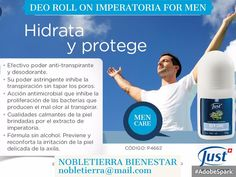 Nobletierra Bienestar Just In Case, Wellness, Health And Wellness, Deodorant, Aromatherapy, Fur