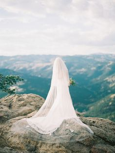 Bridal session in the mountains | Ali & Garrett Wedding Photographers