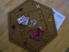 Jolly Joker Board Game & accessories. $30.00, via Etsy.