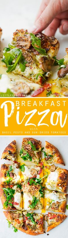 Breakfast Pizza with