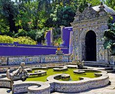Jardin do Palacio dos Marqueses de Fronteira - Lisbonne, Portugal