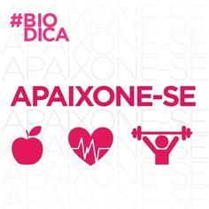 Aproveite a nova semana para apaixonar-se por algo diferente! Que tal uma aula nova como o Bio Funcional Coletivo, por exemplo? E para os apaixonados por fast food, que tal dar uma chance a uma alimentação mais saudável? Confira matéria do #BlogDaBio e experimente levar uma vida mais leve, alimentando-se bem. Acesse ao www.bioritmo.com.br/blog e #Apaixone-se.
