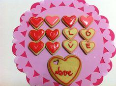 <3 vanilla love cookies <3