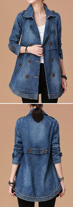 For many women, finding the perfect pair of jeans becomes a quest. Women's jeans are not all made the same, […] Denim Fashion, Fashion Outfits, Womens Fashion, Fashion Trends, Fashion Ideas, Jean Jacket Styles, Fall Outfits, Cute Outfits, Estilo Jeans