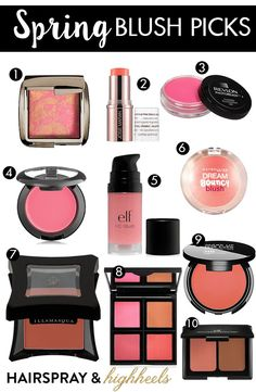 Get a jump on the trend! Check out 10 of the best Spring Blush Picks!