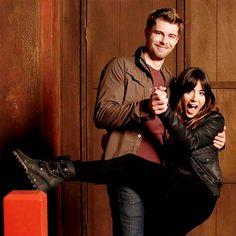 Chloe Bennet and Luke Mitchell