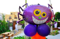 Because balloons are the ultimative party decoration - they come also in scary party themes. We also deliver Balloons to your house. Send your balloon order to info@fantasyparty.com