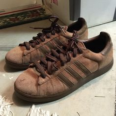 6325518e897 Corduroy Adidas Worn from back in early I normally wear but these fit like  a adidas shoe campus adidas superstars Adidas Shoes Sneakers