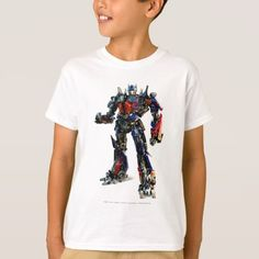 Shop Optimus Prime CGI 2 T-Shirt created by transformers. Personalize it with photos & text or purchase as is! Optimus Prime, Movie T Shirts, Boys T Shirts, Cgi, Shirt Style, Colorful Shirts, Fitness Models, Shirt Designs, Casual