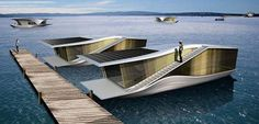concept houseboat living