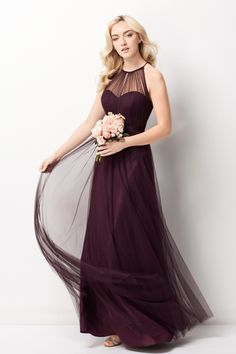 Find More Bridesmaid Dresses Information about 2016 Formal Tulle Pleat Bridesmaid Dresses A Line Bridesmaid Dress Halter Long Special Occasion Dresses,High Quality bridesmaid dresses,China pleated bridesmaid dress Suppliers, Cheap bridesmaid dresses halter from Galaxy Wedding Dress Co., Ltd. on Aliexpress.com