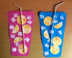 Summer Art Projects, Summer Crafts For Kids, Diy For Kids, Summer Fun, Summer Crafts For Preschoolers, Summer Preschool Activities, Art Activities, Preschool Crafts, Toddler Activities