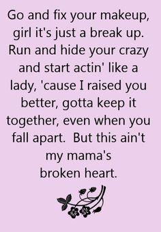 Miranda Lambert - Mama's Broken Heart - song lyrics, song quotes, songs, music lyrics, music quotes,