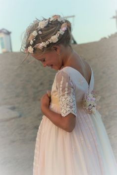 Wedding Dresses For Kids, Wedding With Kids, Girls Pageant Dresses, Little Girl Dresses, Party Dresses, Flower Girl Tutu, Flower Girl Dresses, Flower Girls, Purple Bridesmaid Dresses