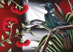 NZ Birds & Landscape - TashArt Sand Crafts, Seashell Crafts, Rock Crafts, World Of Wearable Art, Summer Arts And Crafts, Diy Crafts For Bedroom, Fun Craft, Arts And Crafts Storage, New Zealand Art