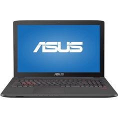 "ASUS Metallic 17.3"" GL752VW-DH71 Laptop PC with Intel Core i7-6700HQ Processor…"