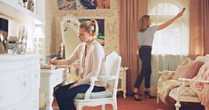 Betty Cooper's girly bedroom in Riverdale.