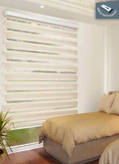 Cortina schiere Eleganz - Remodeling/home - Vorhang Zebra Curtains, Curtains With Blinds, Home Design Decor, House Design, Home Decor, Persiana Sheer Elegance, Attic Storage, My Room, Window Treatments