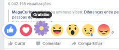 Agora o facebook tem o botão da #gratidão!! Use e abuse quando for o caso <3 :D!! - http://ift.tt/1HQJd81