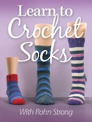 Learn to Crochet Socks with Rohn Strong-Annie's Online Class Watch a free preview here: https://www.anniescatalog.com/onlineclasses/detail.html?code=CDV04