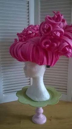 Foam Wig Lalaloopsy Style por LadyMallemour en Etsy